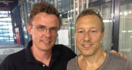 Dmitry Mazunov og Carsten Egeholt