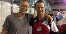 Carsten Egeholt og Ryan Jenkins ved ungdoms EM i Bratislava
